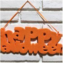 4899 - Halloween Importado – Happy Halloween cintilante -  - Importado
