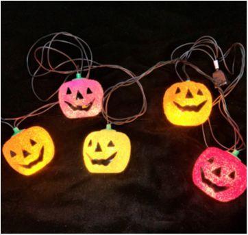 4891 - Halloween Importado –ornamento luminoso de abóboras - Sem faixa etaria - Importado