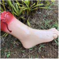 4889 - Halloween Importado – Réplica de perna sangrenta -  - Importado