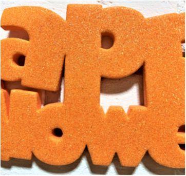 4899 - Halloween Importado – Happy Halloween cintilante - Sem faixa etaria - Importado