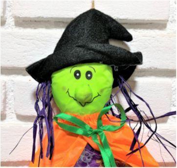 4893 - Halloween Importado – Bruxinha na vassoura. - Sem faixa etaria - Importado