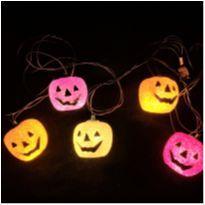 4891 - Halloween Importado –ornamento luminoso de abóboras -  - Importado