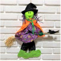 4893 - Halloween Importado – Bruxinha na vassoura. -  - Importado