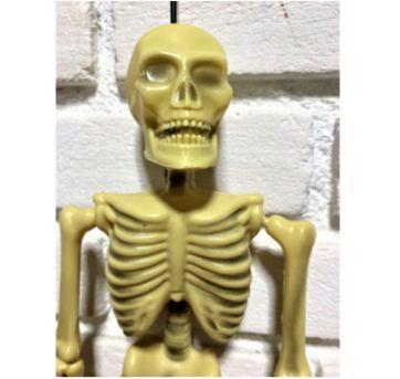 4896 - Halloween Importado – Esqueletinho para pendurar – 0,40 cm. - Sem faixa etaria - Importado