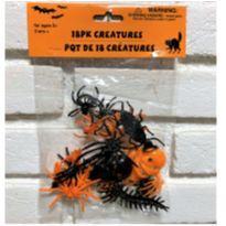 """4914 - Halloween Importado – Pacote de """"Criaturas"""" – 18 peças -  - Importado"""