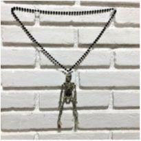 4905 - Halloween Importado – colar de esqueleto -  - Importado