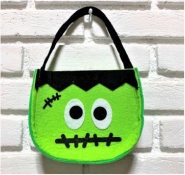 4904 - Halloween Importado – bolsinha de monstrinho - Sem faixa etaria - Importado