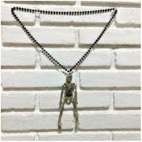 4906 - Halloween Importado – colar de esqueleto -  - Importado
