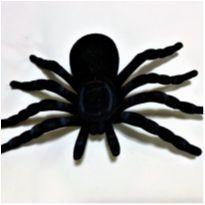 4908 - Halloween Importado – Aranha negra -  - Importado
