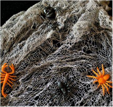 4925 - Halloween Importado - Teia de aranha - cinza - Sem faixa etaria - Importado