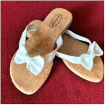 4940 -  Sandália branca La Dutry – Menina 28 - 28 - La Dutry Kids