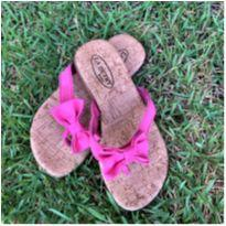 4934 - Sandália rosa rasteirinha – La Dutry Kids – Menina 27 - 27 - La Dutry Kids
