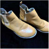 4929 - Bota caramelo em couro Zara Girls – Menina 33 - 33 - Zara