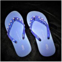 4998 - Sandália Gap azul com Strass – Menina 31-32 - 31 - GAP
