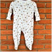5006 - Macacão pijama c/pezinho Faded Glory – Menino 6 a 9 meses – Corujinhas - 6 a 9 meses - Faded Glory (EUA)