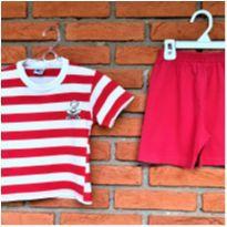 5011 - Conjunto calça e camiseta Tip Top – menino 12 meses - 1 ano - Tip Top