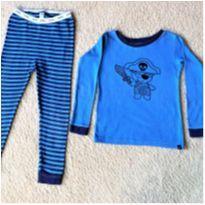 5024 - Pijama duas peças Baby Gap – menino 3 anos – Pirata - 3 anos - Baby Gap