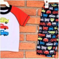 5019 - Pijama duas peças Carter's – menino 12 meses – Carrinhos - 1 ano - Carter`s