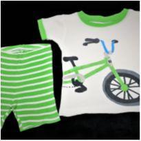 5020 - Pijama duas peças Carter's – menino 18 meses – Bicicleta - 18 meses - Carter`s