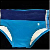 5031 - Sunga Acqualara azul & marinho – menino tamanho 6 - 6 anos - Acqualara