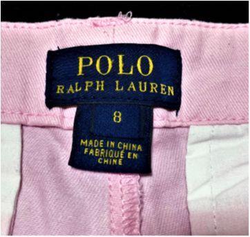5067 - Short rosa Ralph Lauren – Menina 8 anos - 8 anos - Ralph Lauren