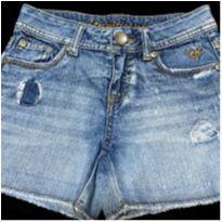 5063 - Short Justice Jeans – Menina 8 anos - 8 anos - Justice USA