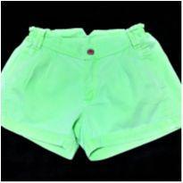 5069 - Short verde Tyrol – Menina 8 anos - 8 anos - Tyrol