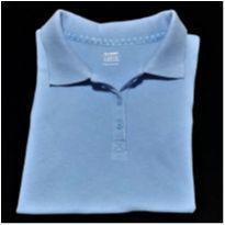 5077 - Blusa polo azul Old Navy – Menina 8 anos - 8 anos - Old Navy