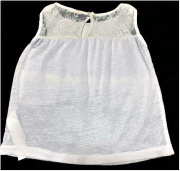 5072 - Batinha branca Zara – Menina 5/6 anos - 5 anos - Zara