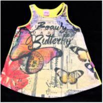 5084 - Top Alakazoo – Menina 6 anos – Beauty Butterfly - 6 anos - Alakazoo!