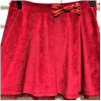 5125 - Saia vermelha importada – Menina 6/6X - 6 anos - Importada