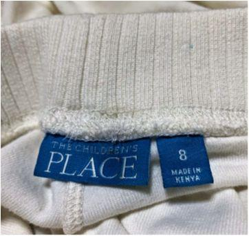 5146 - Calça off white Childrens Place – Menina 8 anos - 8 anos - Children`s Place