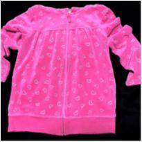5144 - Casaco pink com capuz - Oshkosh – Menina 6 anos - 6 anos - OshKosh