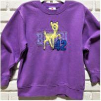 5138 - Blusão lilás Disney – Menina 5/6 – Bambi 42 - 5 anos - Disney