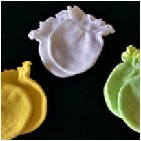 MT - 5181 - Kit importado de luvinhas bebê – Menina 0 a 3 meses - 0 a 3 meses - Importado