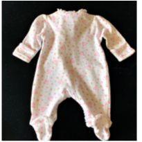 MT - 5186 - Macacão Baby Starters – Menina/Prematura – Princess - Prematuro - Baby Starters