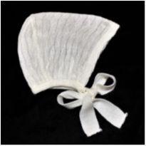 MT - 5284 - Touca em tricô – Menina/3-6 meses - 3 a 6 meses - sem etiqueta