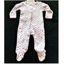 MT - 5304 - Macacão Carter's – Menina/6 meses – corações multicolores - 6 meses - Carter`s