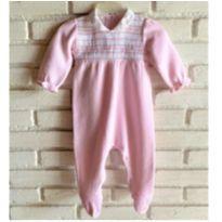 MT - 5316 - Macacão Silmara – Menina/6 meses – Belezinha. - 6 meses - Silmara