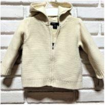 5332 - Casaquinho Baby Gap manteiga  – Menina 6/12 meses - 6 a 9 meses - Baby Gap