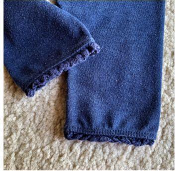 MT - 5325 - Calça marinho Baby Gap – Menina/6 a 12 meses - 6 a 9 meses - Baby Gap