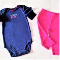 MT - 5347 - Conjunto Carter's- menina/6 meses – Cuty like Mommy - 6 meses - Carter`s