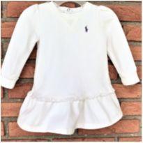 MT - 5355 - Vestido off white Ralph Lauren – Menina/6 meses - 6 meses - Ralph Lauren