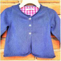MT - 5343 - Casaquinho em tricô Baby Boden – Menina/6 a 12 meses - 6 a 9 meses - Importado