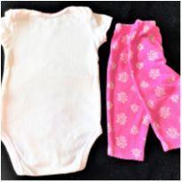 MT - 5346 - Conjunto Carter's – Menina/6 meses – Corujinhas - 6 meses - Carter`s
