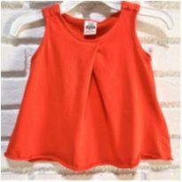 MT - 5400 - Batinha vermelha Zara Baby – Menina 9 a 12 meses. - 9 a 12 meses - Zara Baby