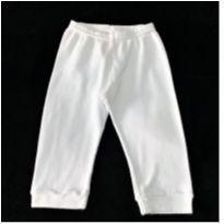 MT - 5410 - Calça branca Alô Bebê – Menino G – 9 meses - 9 meses - Alô bebê