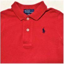 MT - 5440 - Camisa polo cereja Ralph Lauren – Menino 12 meses - 1 ano - Ralph Lauren
