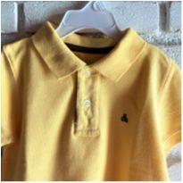 MT - 5439 - Camisa polo amarela Baby Gap – Menino 12 a 18 meses - 1 ano - Baby Gap