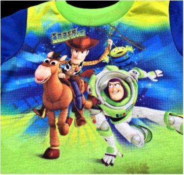 MT - 5455 - Duas peças – Menino 12 meses – Toy Story - 1 ano - Várias